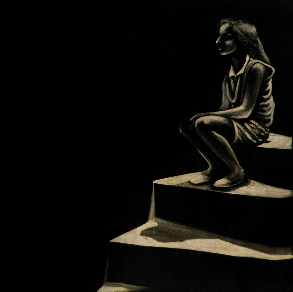 Ozgul ARSLAN - Sitting at the stairs -2013