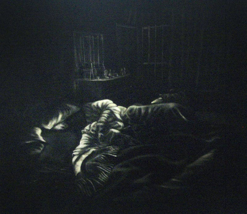 Ozgul ARSLAN, In Bed, 2011